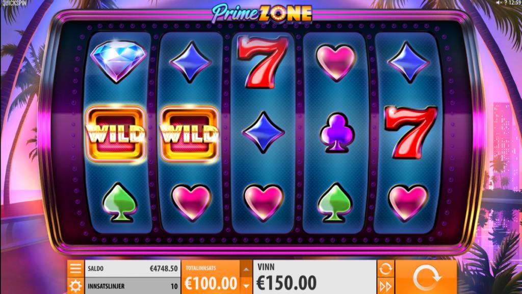 Prime Zone spilleautomat