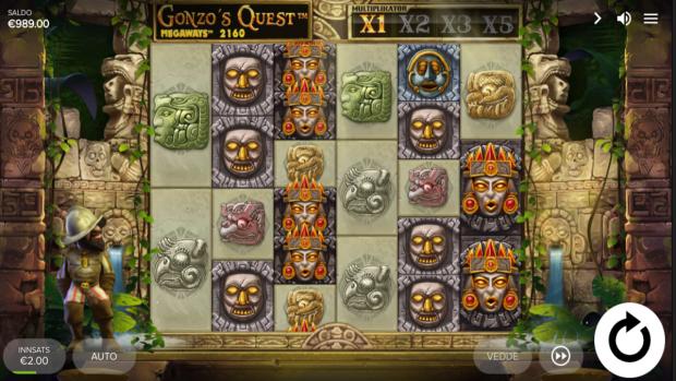 Gonzo's Quest Megaways spilleautomaten